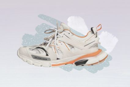 Introducing the first designer sneaker you can actually work out in