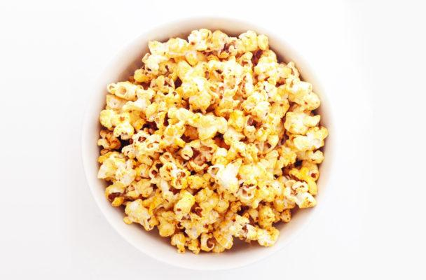 "This vegan ""cheese"" popcorn is just as addictive as the movie theater's"