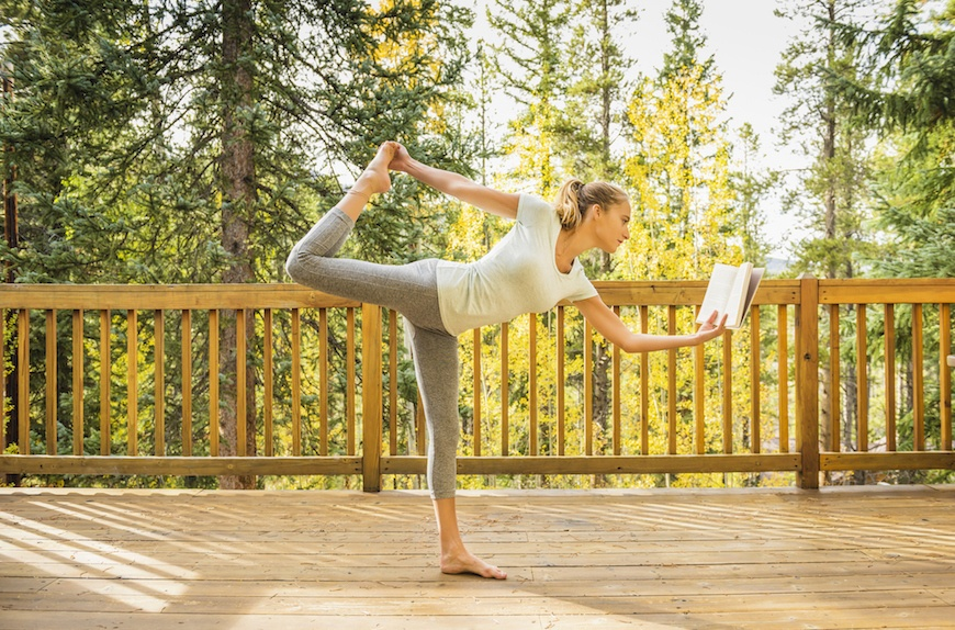 Thumbnail for 10 of the best yoga books to add to your shelf (or you know, use as a makeshift block)