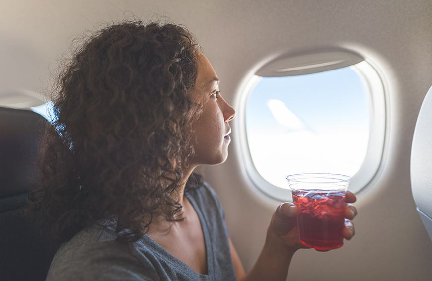 Thumbnail for How 7 health pros naturally avoid getting gassy or bloated on planes