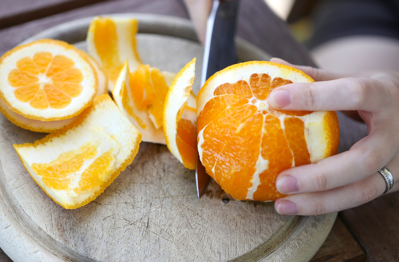 Thumbnail for Wait! Don't throw away your orange peels—they make an amazing aromatic cleaner