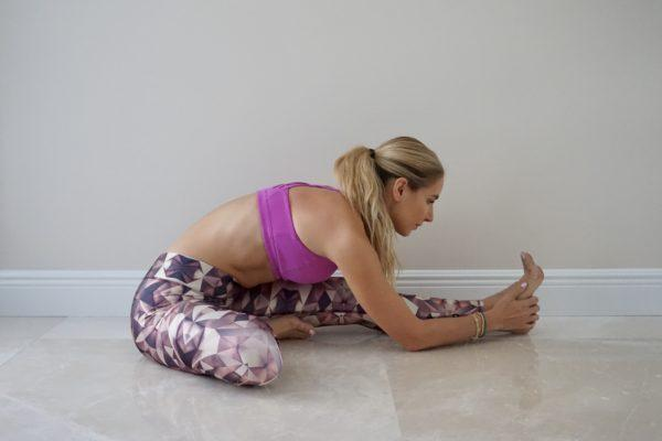 Memorize these yoga moves when that time of the month rolls around