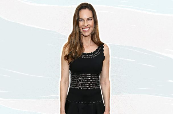 The 20/80 shopping rule Hilary Swank uses to get the most out of her wardrobe