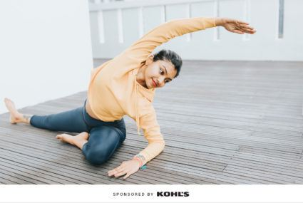 Kohl's National Yoga Month Gaiam