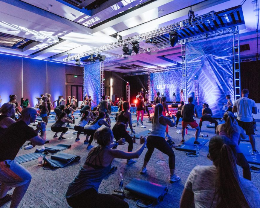 I went to the fitness equivalent of Burning Man