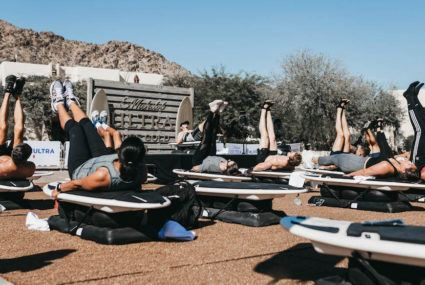 I went to the Coachella of fitness—here's what it was like