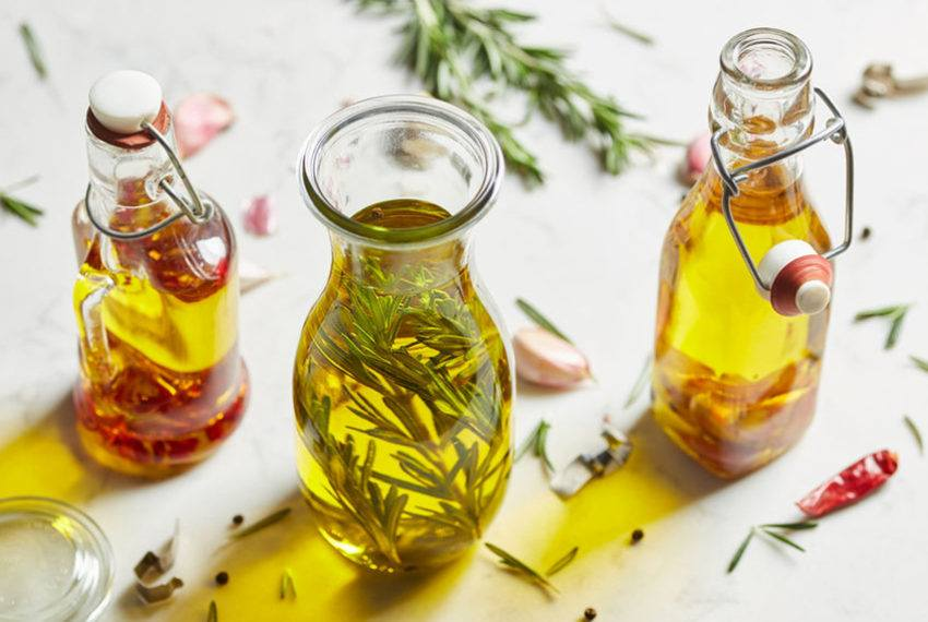 Make rosemary oil directly in your slow cooker with just 2 ingredients