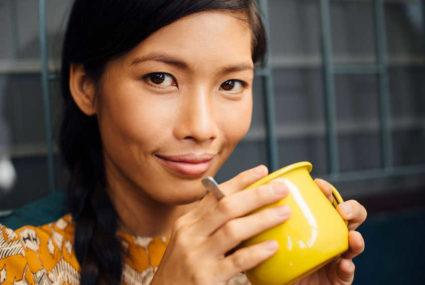 Why one registered dietitian adds fermented aloe vera into her lattes