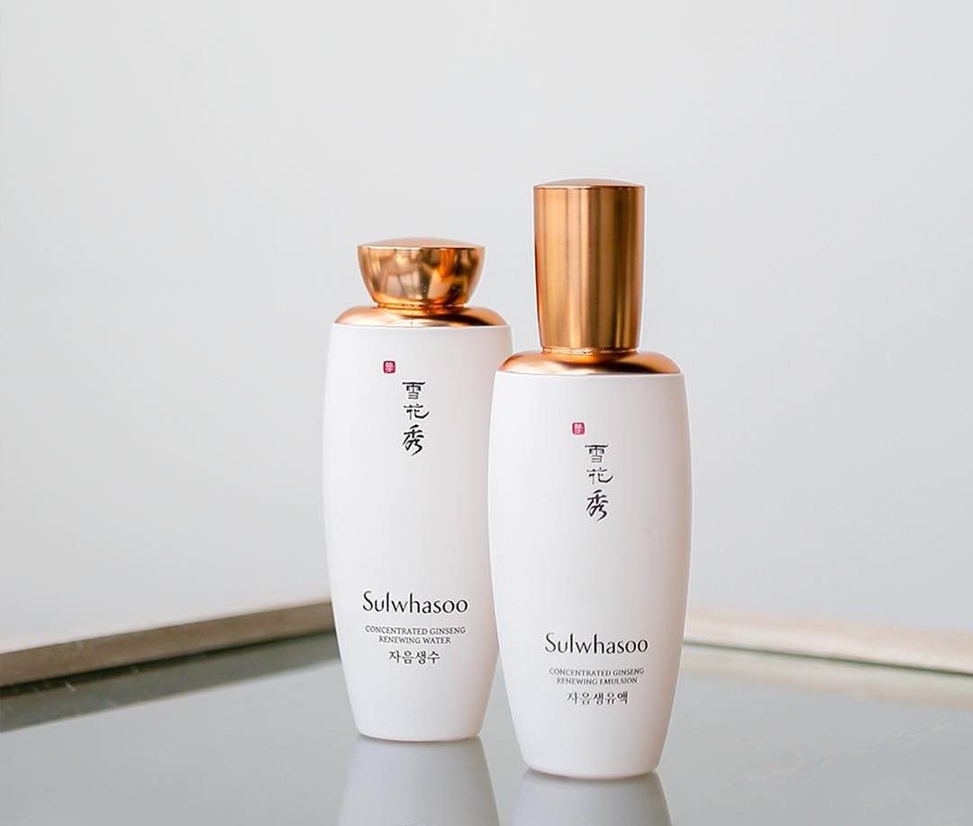 Sulwhasoo ginseng emulsion water