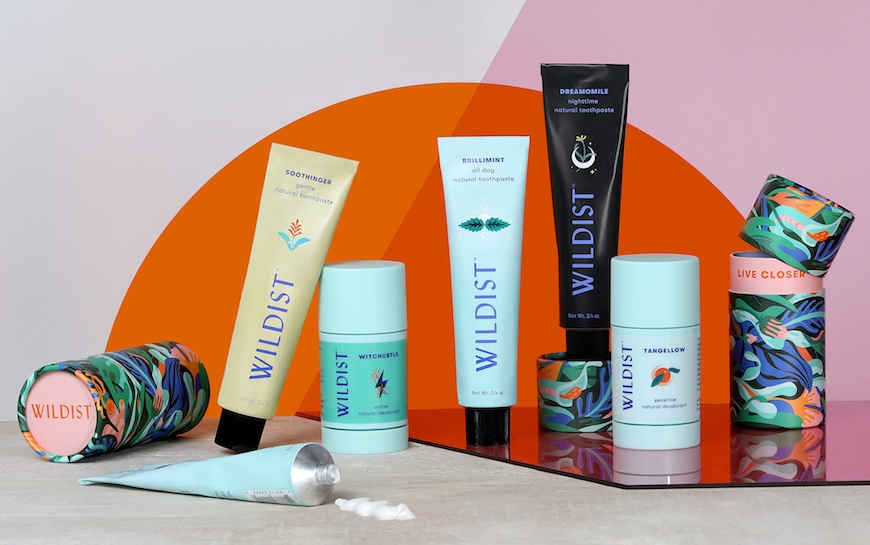 Thumbnail for Wildist's new deodorants and toothpastes are turning beauty staples into everyday art