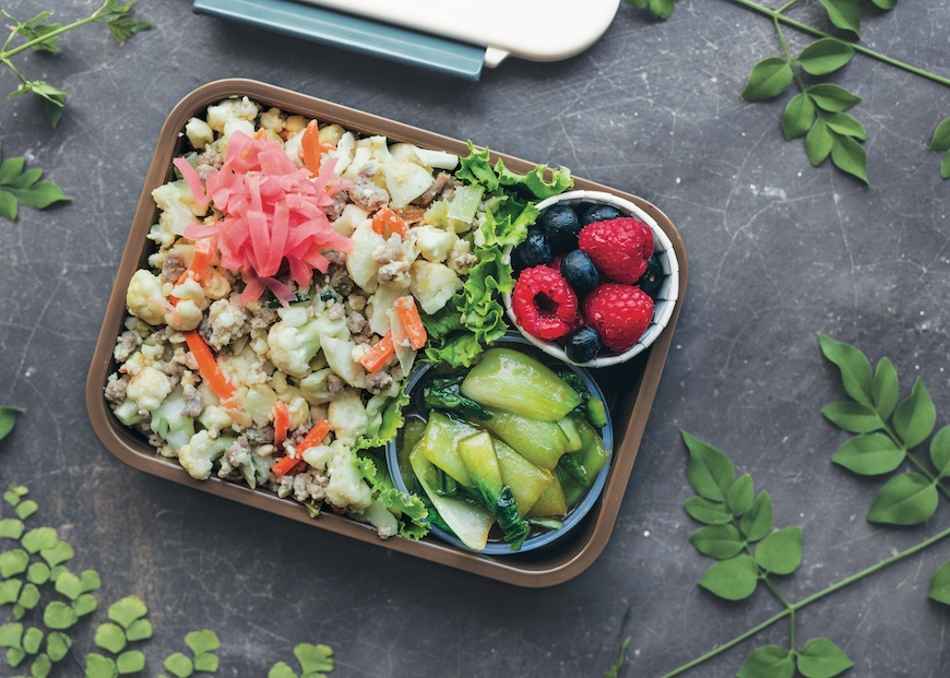 Healthy bento box ideas