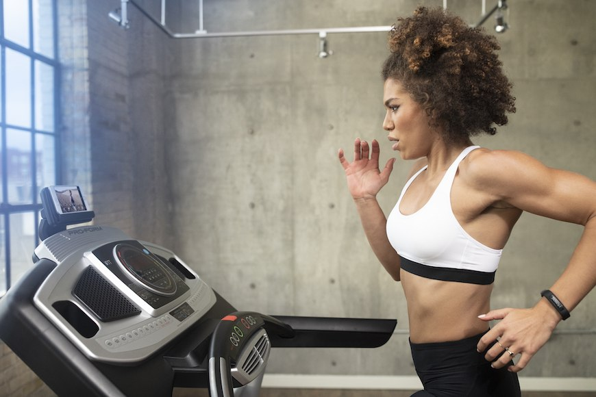 Thumbnail for The key to making your indoor at-home workouts not boring—for real