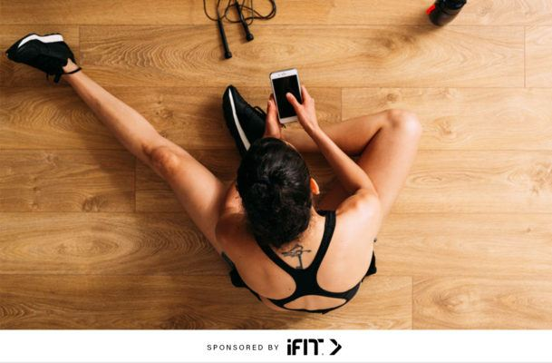 The key to making your indoor at-home workouts not boring—for real