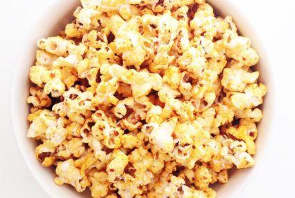 Lily Kunin vegan popcorn