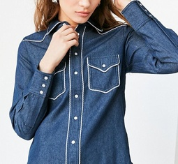 uo western button down shirt - Is vogue's newest obsession with cowboys simply channeling the Wild West power of as we speak's cultural local weather?