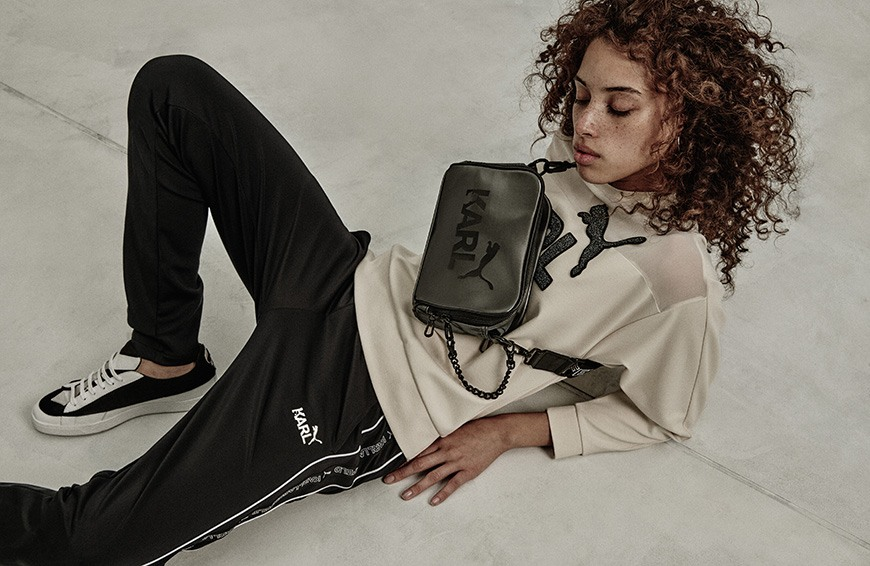 Thumbnail for The new Karl Lagerfeld x Puma collab is the closest thing to Chanel streetwear right now
