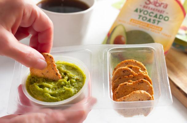 This grab-and-go avocado toast is an adult millennial's answer to Lunchables