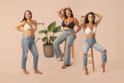 Lively Busty Bralette now comes in band size 40