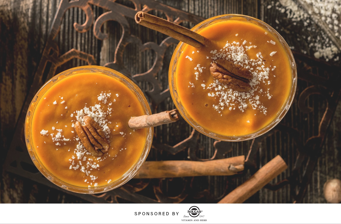 This pumpkin-spice smoothie will give your breakfast all the fall feels