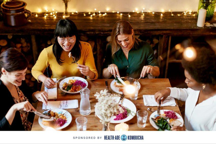 3 tips for having a bloat-free holiday party season, according to celeb nutritionist Kimberly Snyder