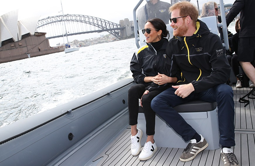 Thumbnail for All About the French Sneakers Meghan Markle Laced up Down Under