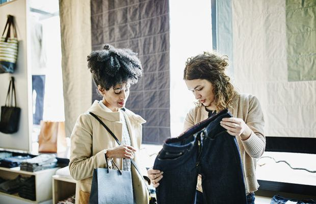 Trading your old clothes in for cool new ones is a dream fashion brands are making a reality