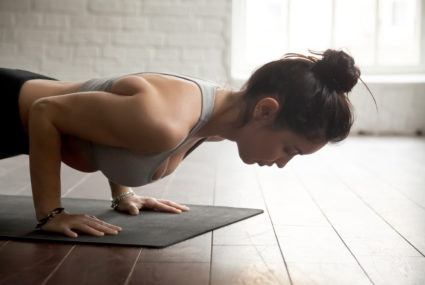 chaturanga variation