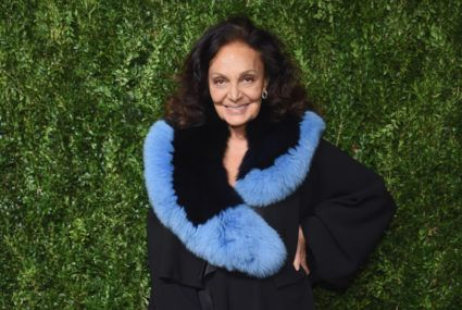 Part of the 49 percent of women self-conscious about outfit repeating? Diane Von Furstenberg says you shouldn't be