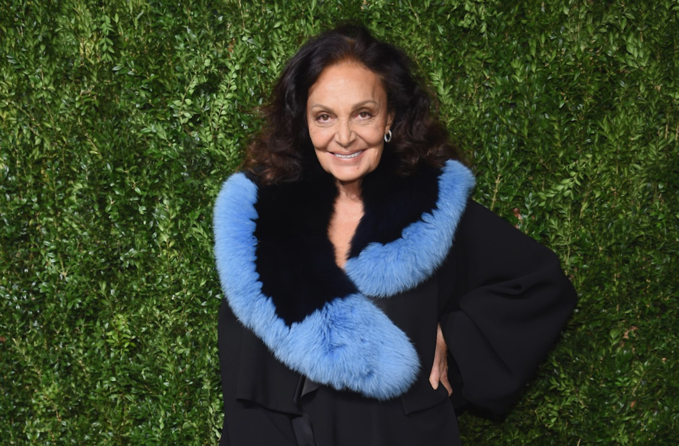 Thumbnail for Stop Being Self-Conscious About Repeating Outfits—Diane Von Furstenberg Says It's a Style *Asset*