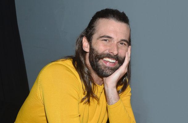 """Jonathan Van Ness' stress-busting yoga flow will make you say """"yaaas"""" to rolling out your mat"""