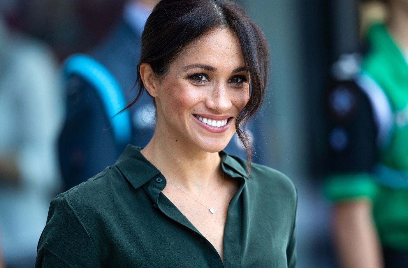 Thumbnail for Meghan Markle's favorite white sneakers are actually affordable