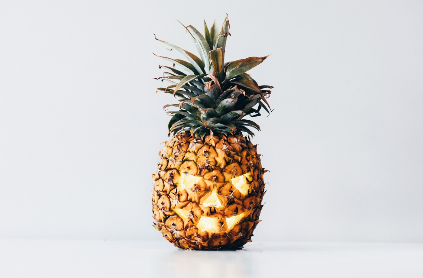 Thumbnail for Keep Summer Vibes Strong This Halloween With Pineapple Jack-O-Lanterns