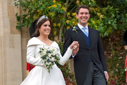 The best Princess Eugenie wedding dress feature? Her scar