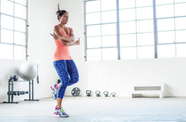 The One Calf Stretch to Know If Your Workout Has a Lot of Jumping in It