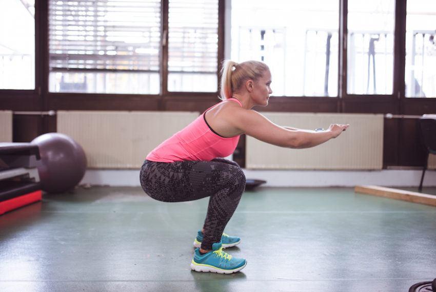 4 squat variations that'll help your bum do its best peach emoji