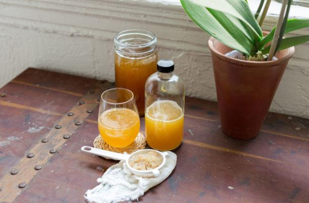 Bored with 'booch? Water kefir's the new fermented drink you've gotta try