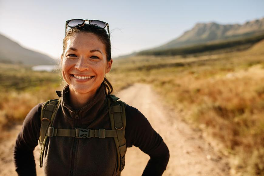 The healthy benefits of hiking, and gear you need