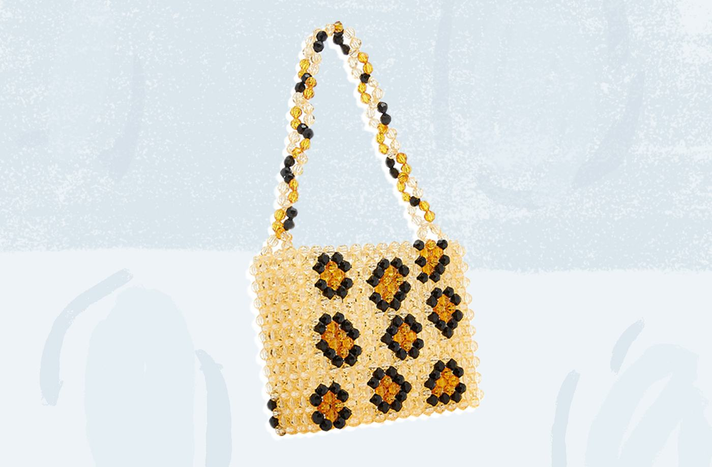 Thumbnail for Women are losing it over this beaded leopard bag