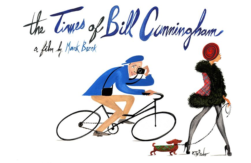 The fashion faux pas several supermodels willingly committed for Bill Cunningham