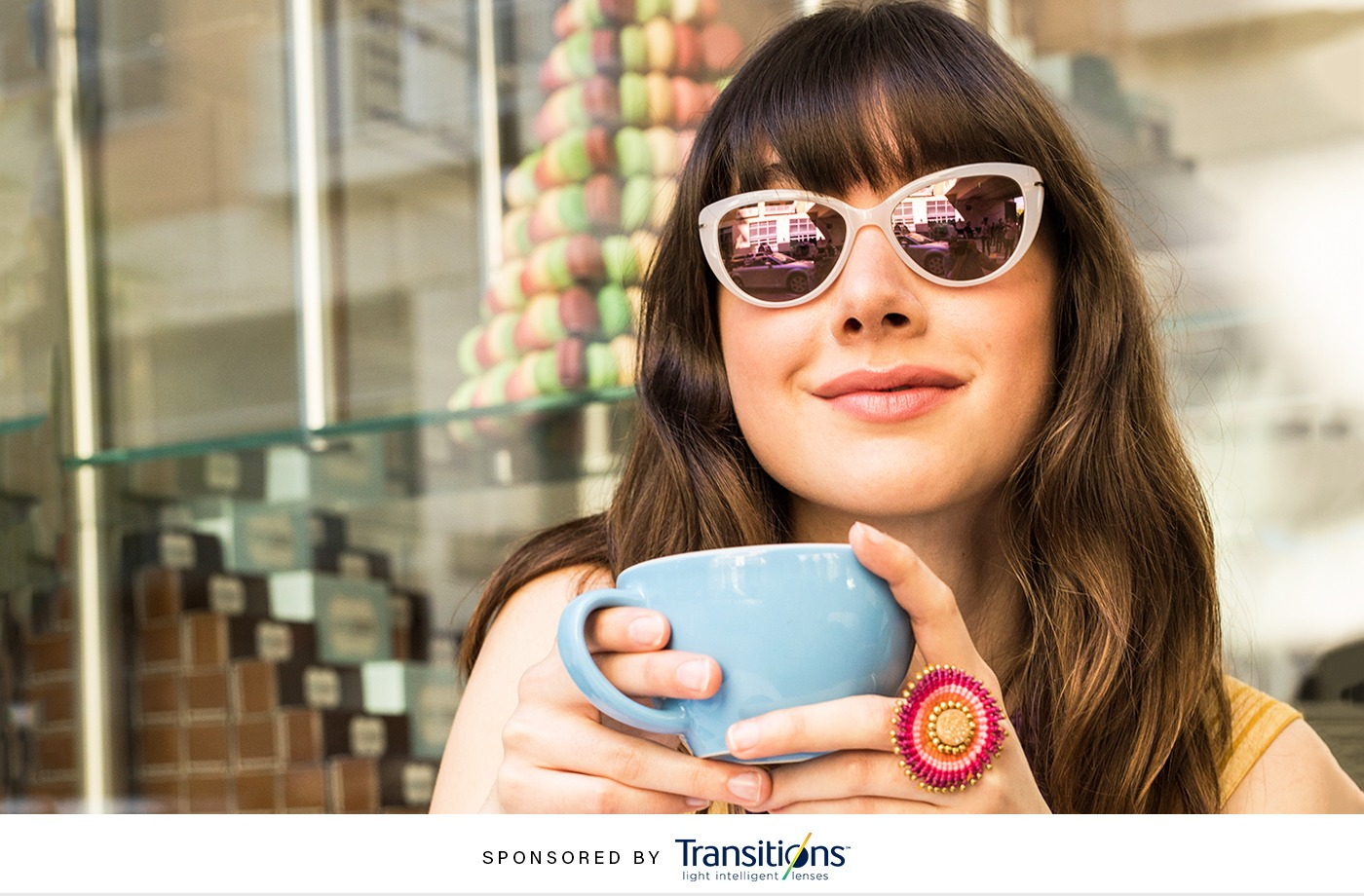 Newsflash: Transitions lenses now have serious style cred—and wellness benefits