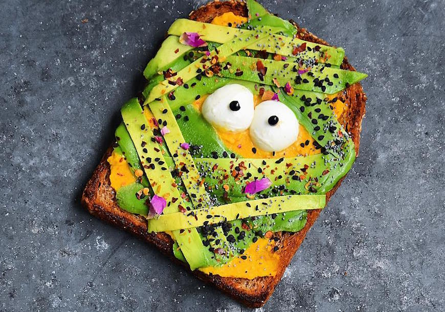 Thumbnail for Here's How to Give Your Avocado Toast a Halloween Makeover