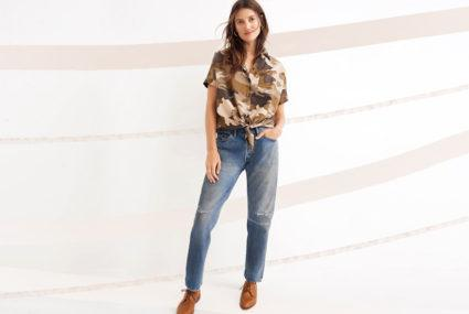 If you're sick of your skinny jeans, try this denim trend on for size