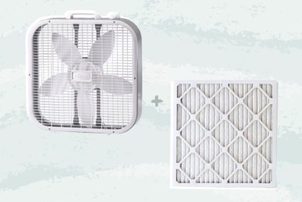 Live in California? This box fan hack might help rid your home of wildfire smoke