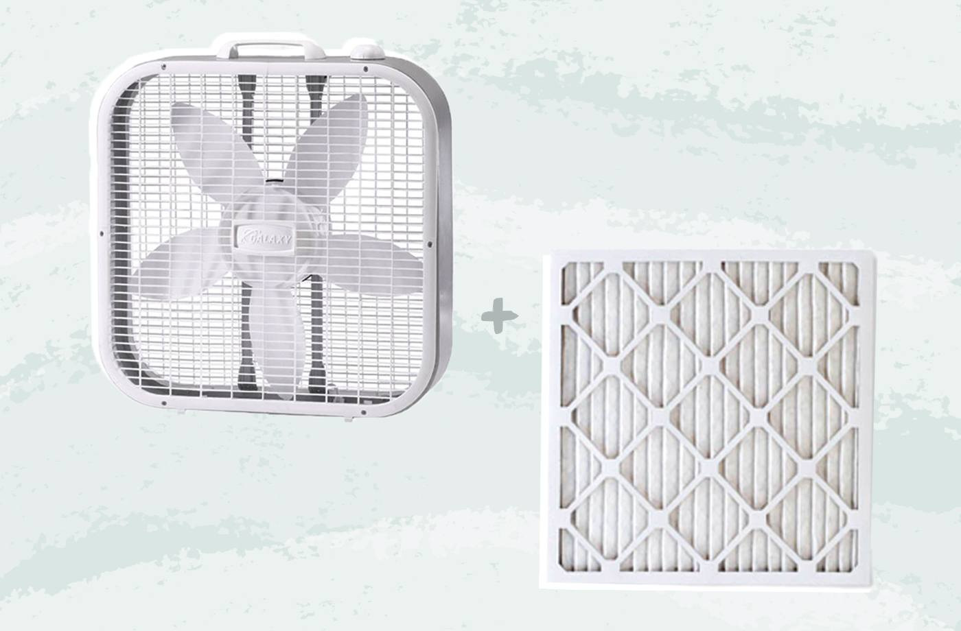 Thumbnail for Live in California? This box fan hack might help rid your home of wildfire smoke