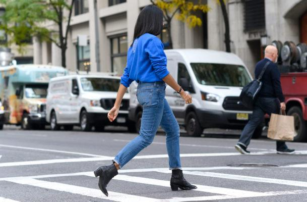 12 pairs of comfy jeans that'll convince you to leave the stretch for your workout