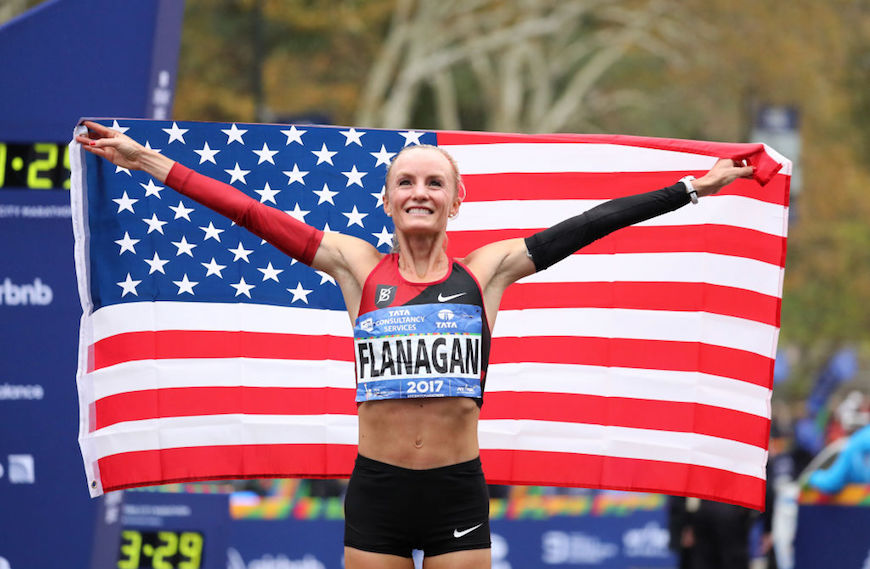 Thumbnail for You'll want to steal this recovery tip from NYC marathon winner Shalane Flanagan