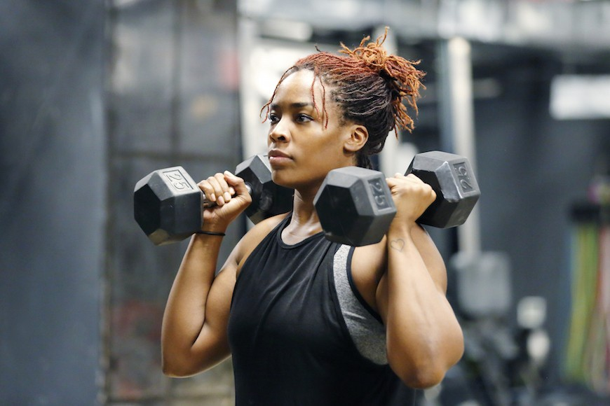 Cardio weightlifting can save you *major* time in the gym—and who doesn't want that?