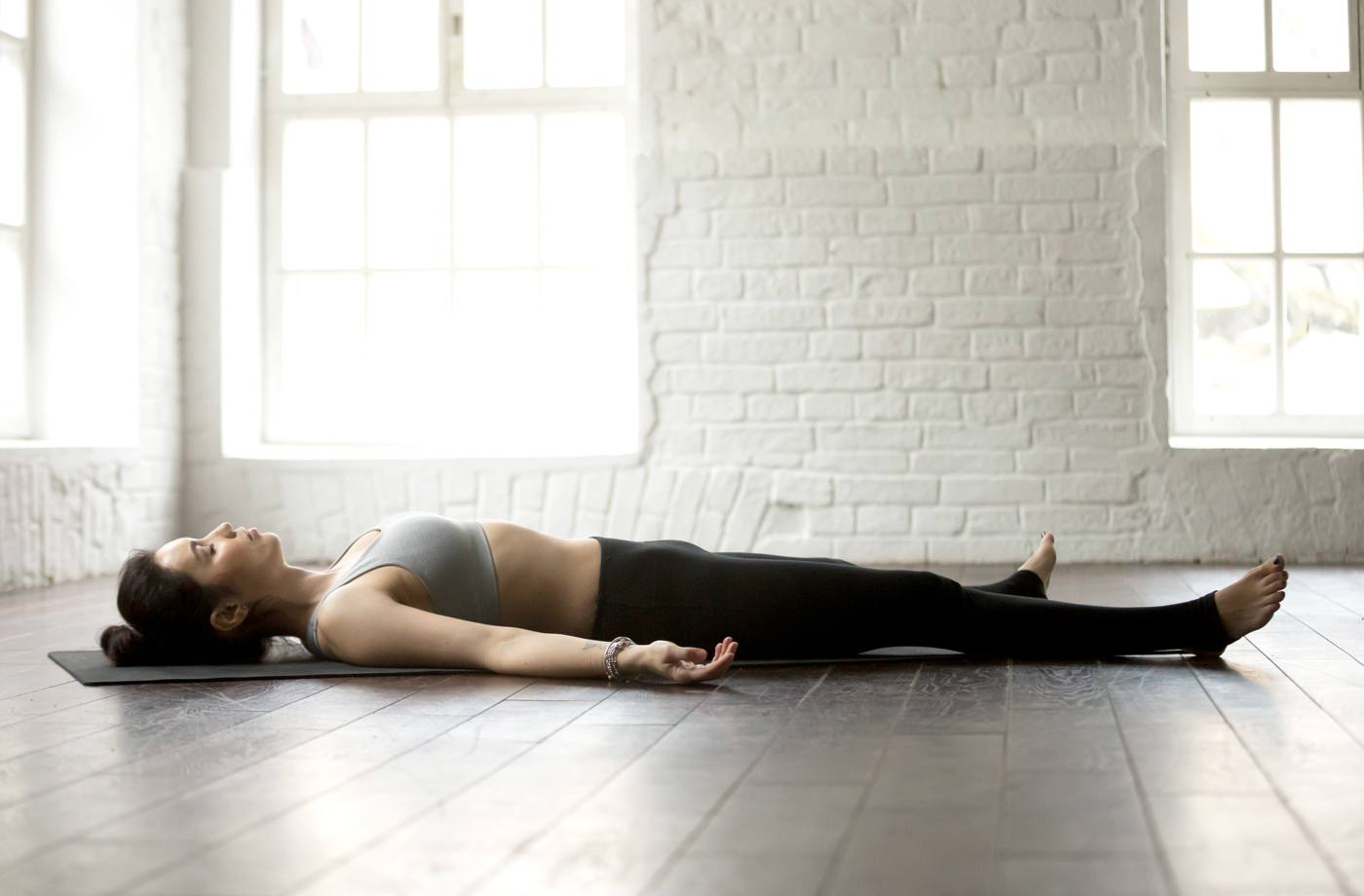 Thumbnail for Why you should do Savasana after *every* workout, according to science
