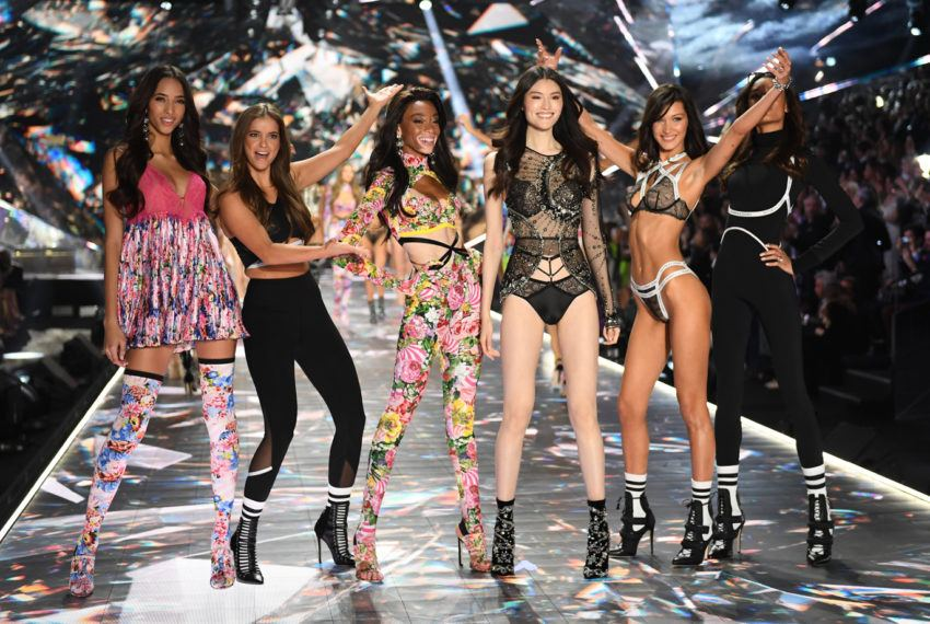 I went backstage at the Victoria's Secret fashion show and all the Angels had one piece of advice