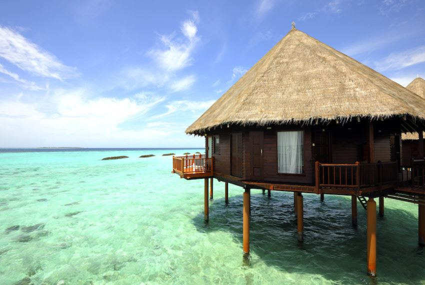7 of the most epic overwater bungalows worldwide—because you deserve...